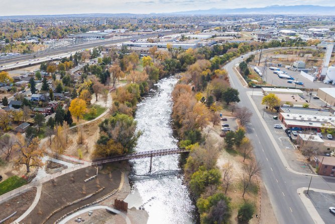 City Amp County Of Denver Wastewater Yard A Stormwater